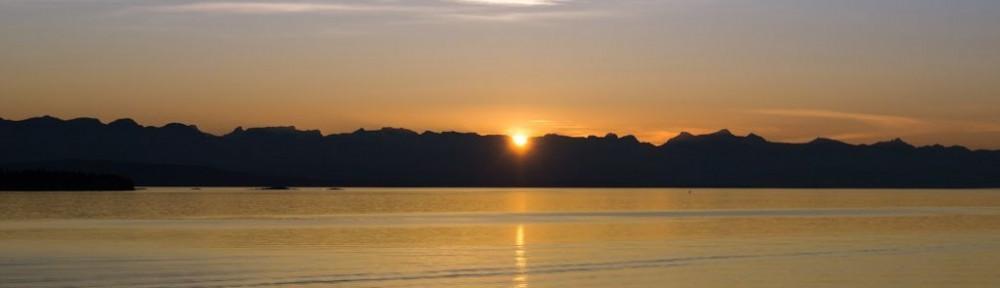 Alaska sunset page