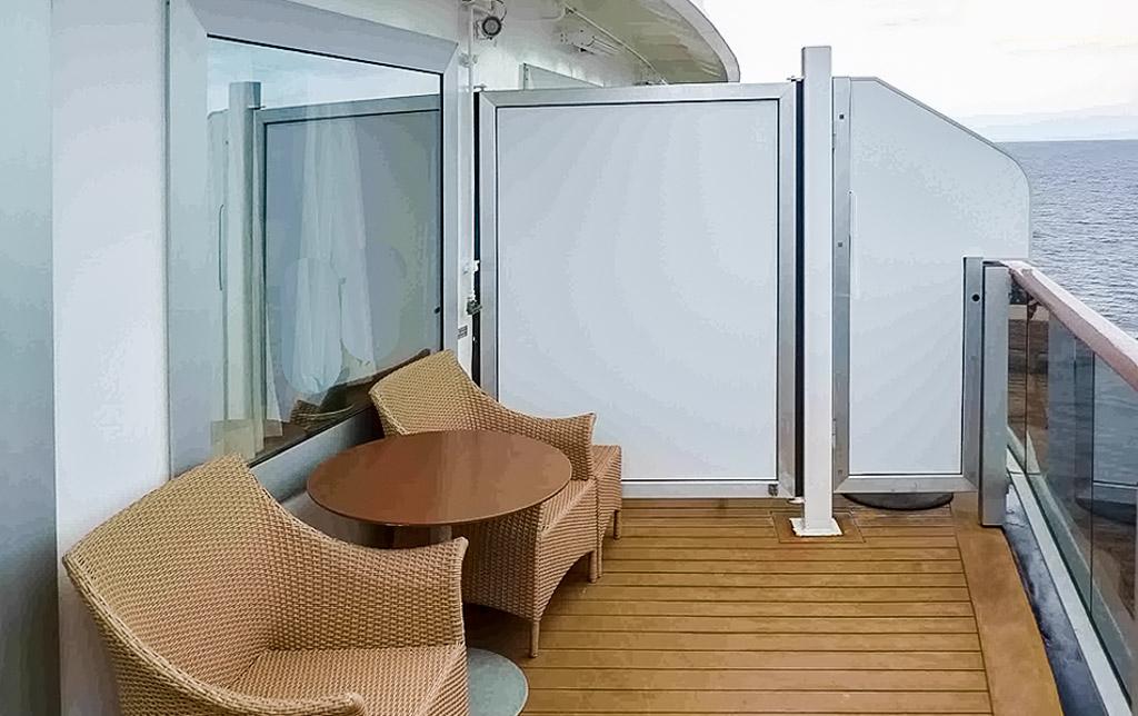 Aft Neptune Suites Verandah Questions Cruise Critic Message Board Forums